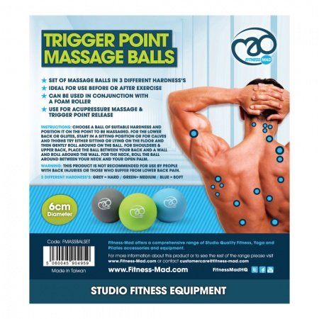UF Equipment Trigger Point Massage Ball Set